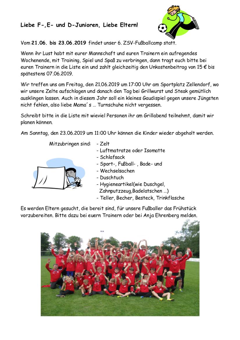 Fußballcamp2019